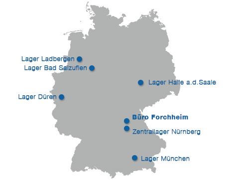 Standorte VIP Forchheim